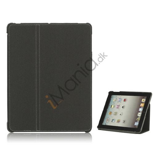 Premium Canvas Folio Case Holder til iPad 2 3 4 - Grå