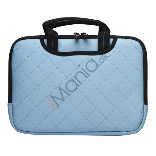 Image of   10,2 tommer Kunstlæder håndtaske taske til Den Nye iPad 2 3 4 Samsung P7500 P7510 P5100 - Baby Blue
