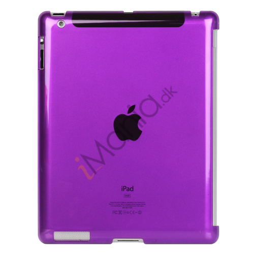 Image of   Klar Smart Cover Companion Crystal Case til iPad 2 Den nye iPad 3rd Generation - Lilla