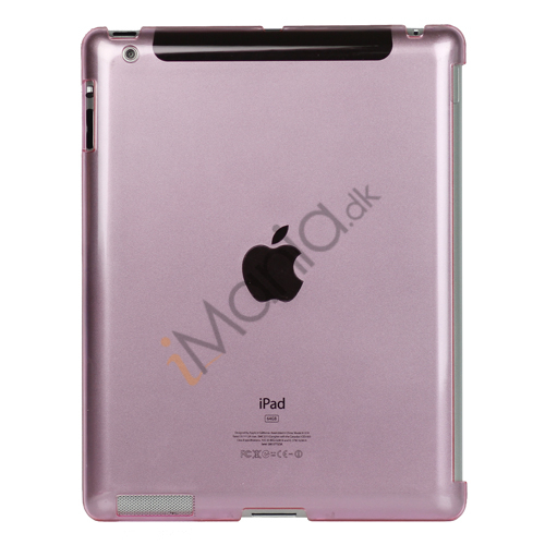 Image of   Klar Smart Cover Companion Crystal Case til iPad 2 Den nye iPad 3rd Generation - Pink