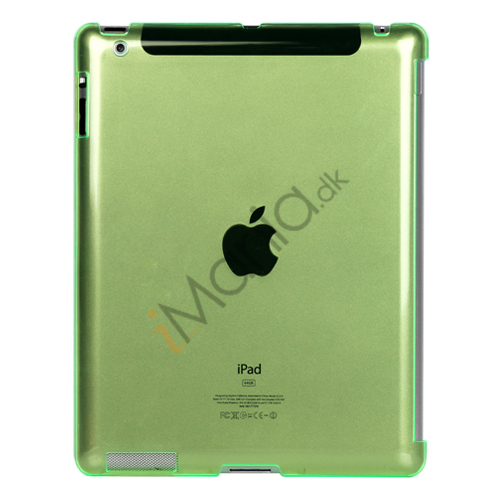 Image of   Klar Smart Cover Companion Crystal Case til iPad 2 Den nye iPad 3rd Generation - Grøn