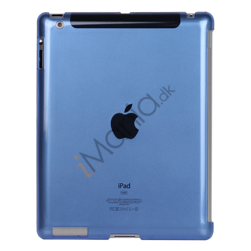 Image of   Klar Smart Cover Companion Crystal Case til iPad 2 Den nye iPad 3rd Generation - Blå