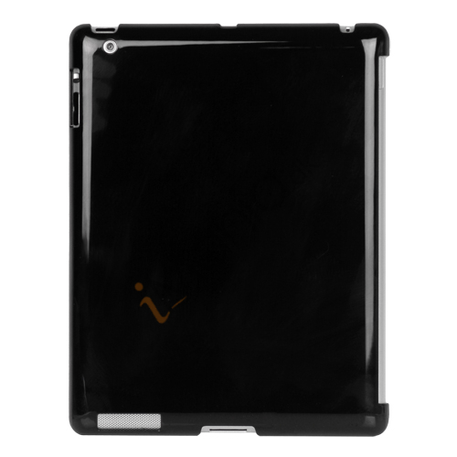 Image of   Smart Cover Companion Crystal Case til iPad 2 Den nye iPad 3rd Generation - Sort