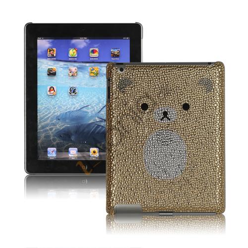 Image of   Adorable Rilakkuma Rhinestone Swarovski Taske til den nye iPad 3rd Generation - Gul