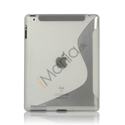 Billede af S-Line Wave TPU Gel Etui til Den Nye iPad 2 3 4 - Gennemsigtig