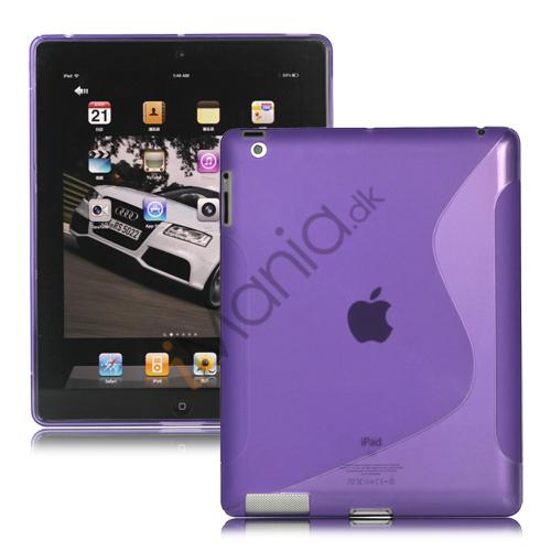 Image of   S-Line TPU Skin Cover Case til den nye iPad - Lilla