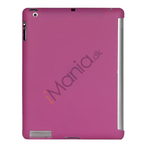 Image of   Smart Cover Companion TPU Gel Case til iPad 2 3 4 - Lilla