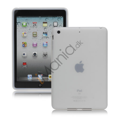 Soft Silicone Case Cover til iPad Mini - Transparent