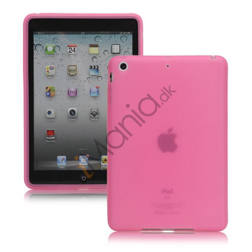 Soft Silicone Case Cover til iPad Mini - Pink