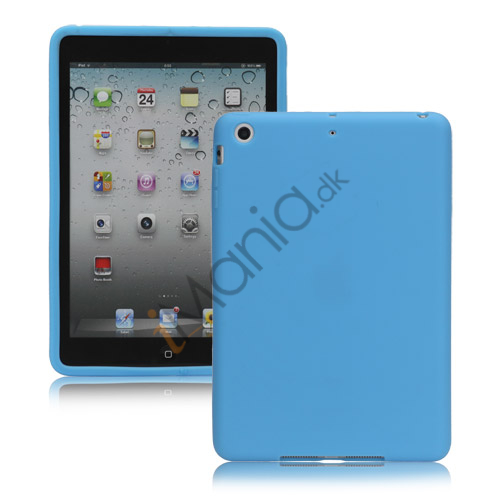 Soft Silicone Case Cover til iPad Mini - Baby Blå