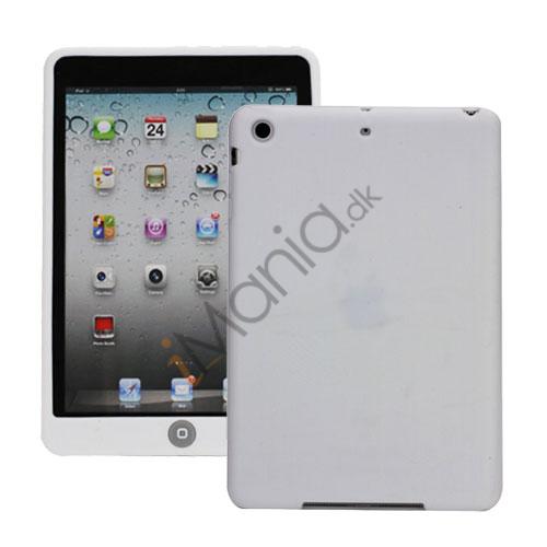 Image of   Blødt Silicone Case Cover med Chokolade Home Button til iPad Mini - Hvid