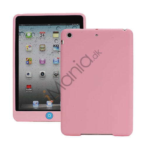 Image of   Blødt Silicone Case Cover med Chokolade Home Button til iPad Mini - Pink