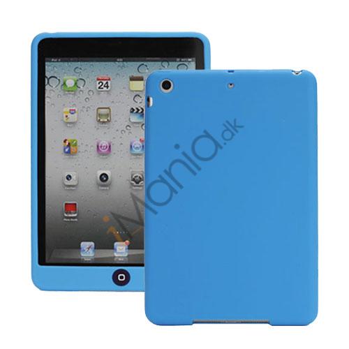 Image of   Blødt Silicone Case Cover med Chokolade Home Button til iPad Mini - Baby Blå
