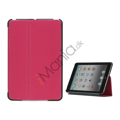 Slim Canvas Case Cover with Stand til iPad Mini - Rose