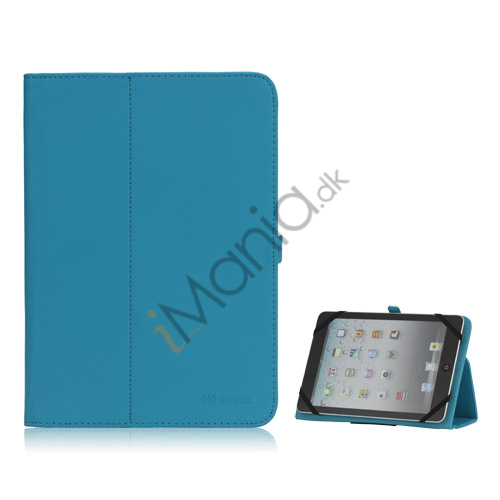 Speck MagFolio Leather Case Cover with Stand  til iPad Mini Kindle Fire HD 7 inch - Baby Blå