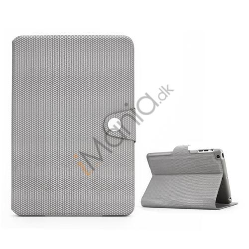 Image of   Fodbold Vein Magnetic Læder Stand Case til iPad Mini - Grå
