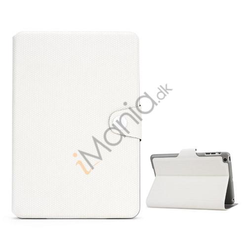 Image of   Fodbold Vein Magnetic Læder Stand Case til iPad Mini - Hvid