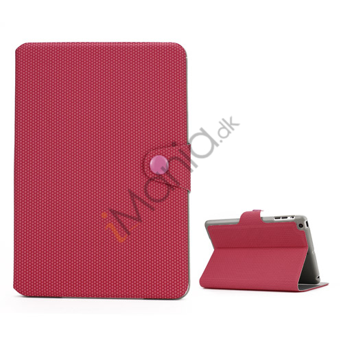 Image of   Fodbold Vein Magnetic Læder Stand Case til iPad Mini - Rose