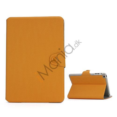 Image of   Fodbold Vein Magnetic Læder Stand Case til iPad Mini - Gul