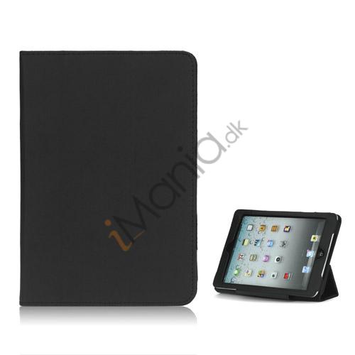 Image of   HOT Flip Magnetic PU Læder Stand Case Cover til iPad Mini - Sort