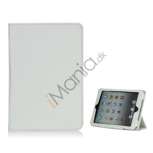 Image of   HOT Flip Magnetic PU Læder Stand Case Cover til iPad Mini - Hvid