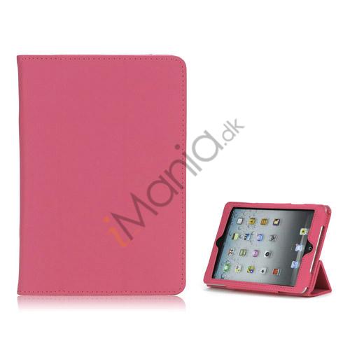 Image of   HOT Flip Magnetic PU Læder Stand Case Cover til iPad Mini - Pink