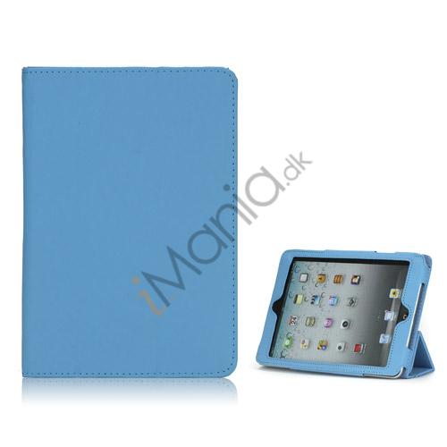 Image of   HOT Flip Magnetic PU Læder Stand Case Cover til iPad Mini - Blå