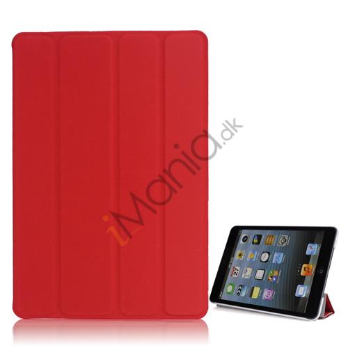 Billede af Ny Excellent Spider PU Læder Smart Cover Case Stand the iPad Mini - Rød
