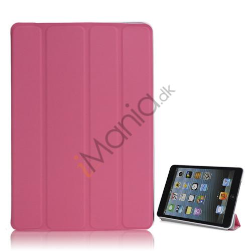 Billede af Ny Excellent Spider PU Læder Smart Cover Case Stand the iPad Mini - Pink