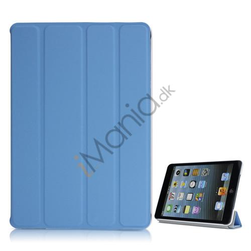 Billede af Ny Excellent Spider PU Læder Smart Cover Case Stand the iPad Mini - Blå