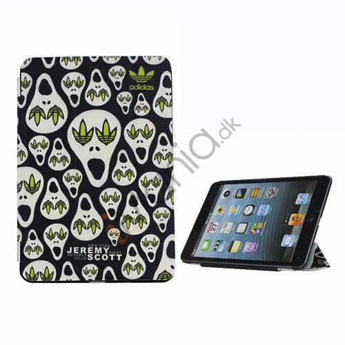 Billede af Jeremy Scott X Adidas Lovely Cartoon Læder Smart Cover Case til iPad Mini med Stand