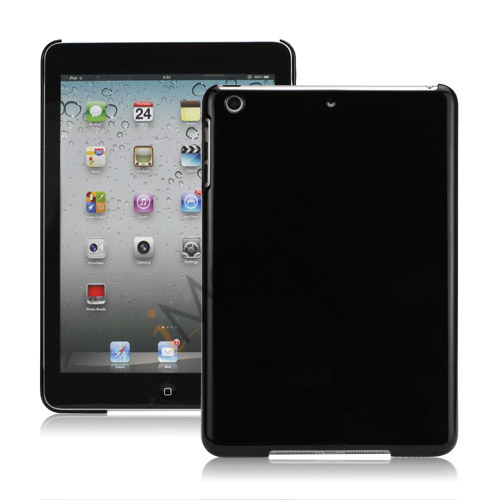Smooth Crystal Case Cover til iPad Mini - Sort