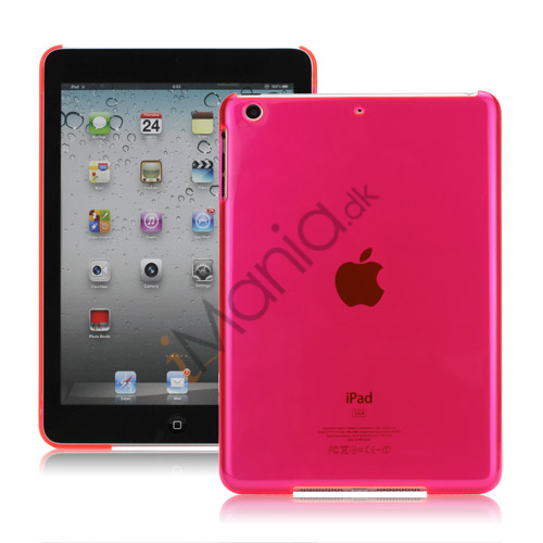 Smooth Clear Crystal Case Cover til iPad Mini - Translucent Rose
