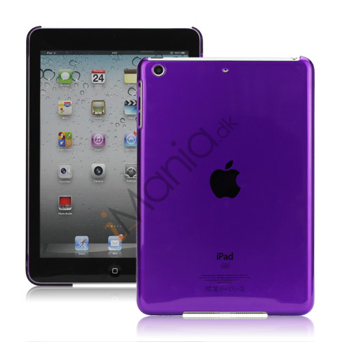 Smooth Clear Crystal Case Cover til iPad Mini - Translucent Lilla