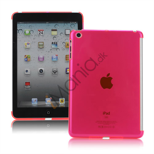 Image of   Clear Smart Cover Companion Crystal Case Cover til iPad Mini - Translucent Rose