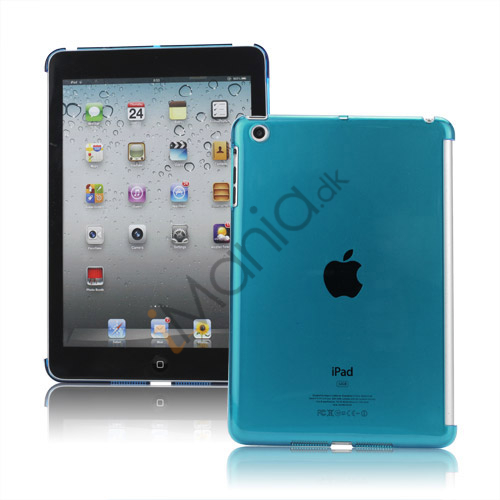 Image of   Clear Smart Cover Companion Crystal Case Cover til iPad Mini - Translucent Blå