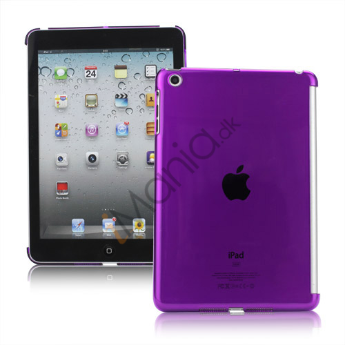 Image of   Clear Smart Cover Companion Crystal Case Cover til iPad Mini - Translucent Lilla