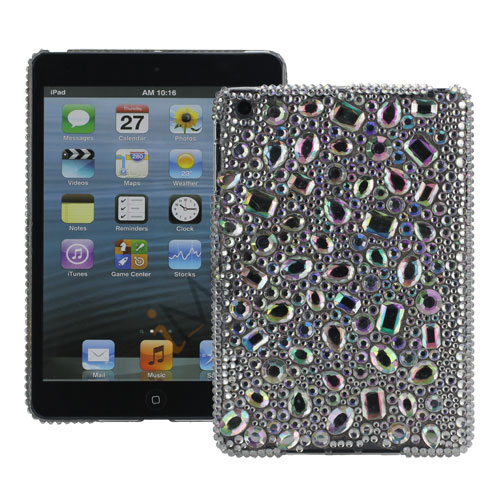 Image of   Bling Bling Moderigtigt Diamante Diamond Hard Case til iPad Mini