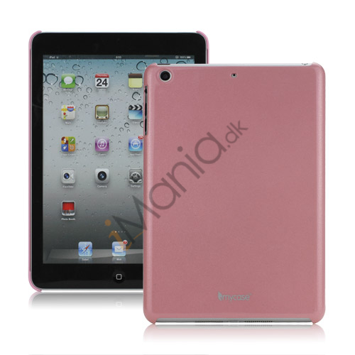 Noctilucent Effect glitrende Powder Glossy Hard Case Cover til iPad Mini - Pink