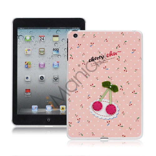 Image of   Cherry Chu Beskyttende Hard Case Cover til iPad Mini