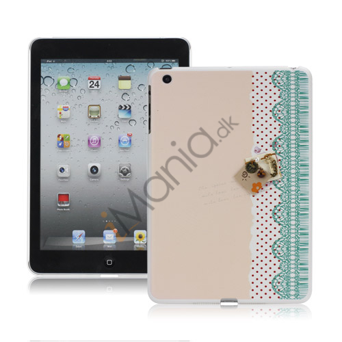 Image of   Elegant 3D Metal Key Beskyttende hård plast Case Cover til iPad Mini