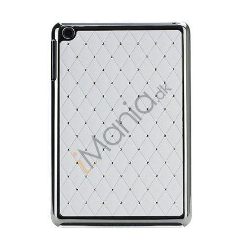 Image of   Elegant Starry Sky Bling Diamond Hard Case Cover Tilbehør til iPad Mini - Hvid