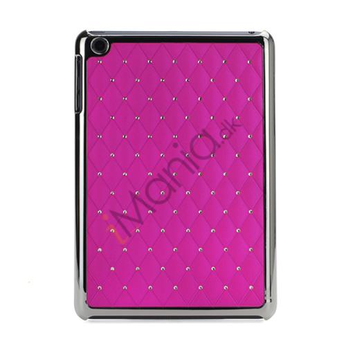 Image of   Elegant Starry Sky Bling Diamond Hard Case Cover Tilbehør til iPad Mini - Rose