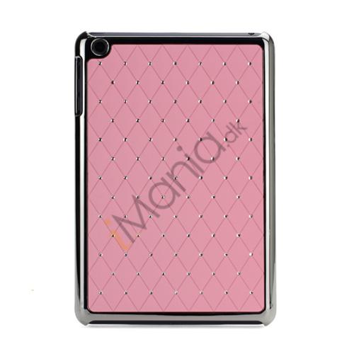 Image of   Elegant Starry Sky Bling Diamond Hard Case Cover Tilbehør til iPad Mini - Pink