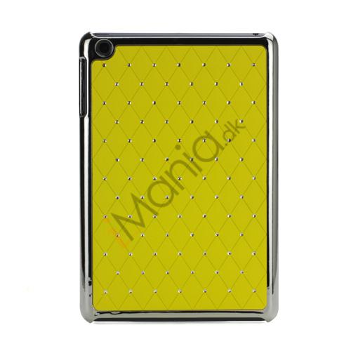 Image of   Elegant Starry Sky Bling Diamond Hard Case Cover Tilbehør til iPad Mini - Gul