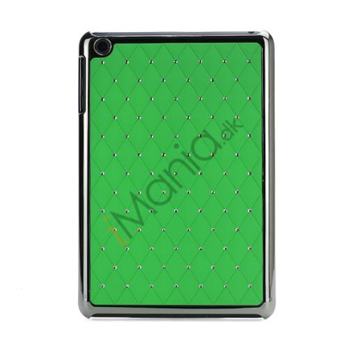 Image of   Elegant Starry Sky Bling Diamond Hard Case Cover Tilbehør til iPad Mini - Grøn