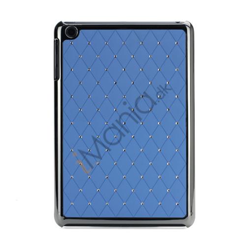 Image of   Elegant Starry Sky Bling Diamond Hard Case Cover Tilbehør til iPad Mini - Light Blå