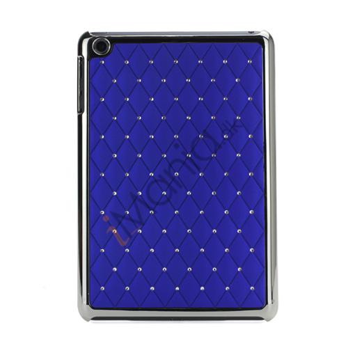 Image of   Elegant Starry Sky Bling Diamond Hard Case Cover Tilbehør til iPad Mini - Mørkeblå