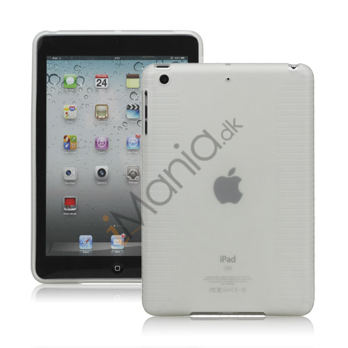 Skidproof TPU Gel Case Cover til iPad Mini - Transparent
