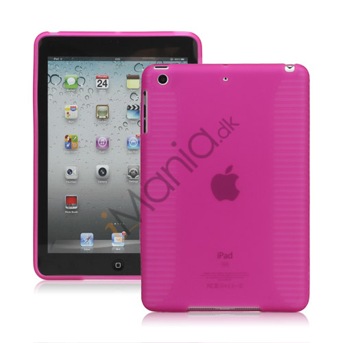 Skidproof TPU Gel Case Cover til iPad Mini - Rose